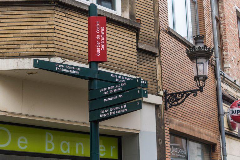 Marcher à Bruxelles