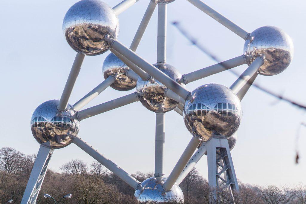 L'Atomium à Bruxelles en Belgique