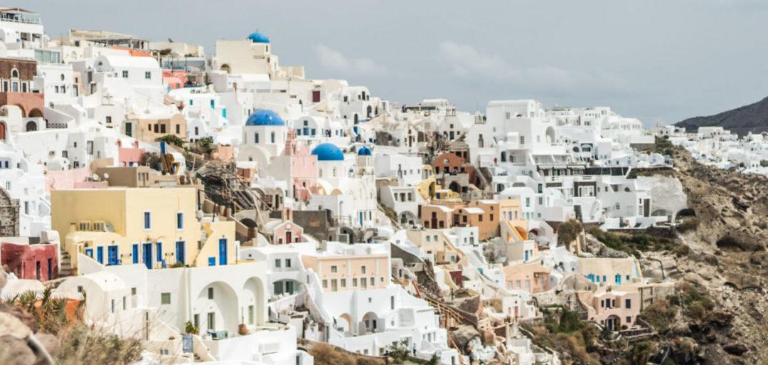 Santorin: derrière la horde de touristes 🇬🇷